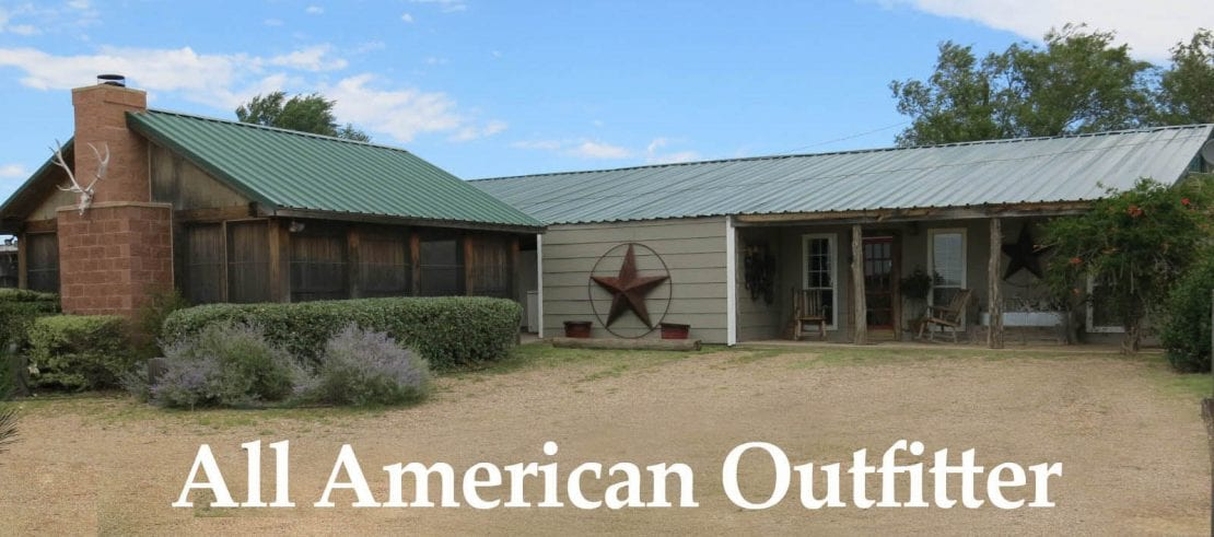 hunting lodge at all american outfitter in texas panhandle