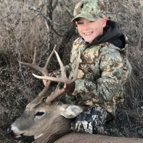 whitetail deer hunt in the texas panhandle